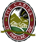 The Cabins of Pinecone Lane logo